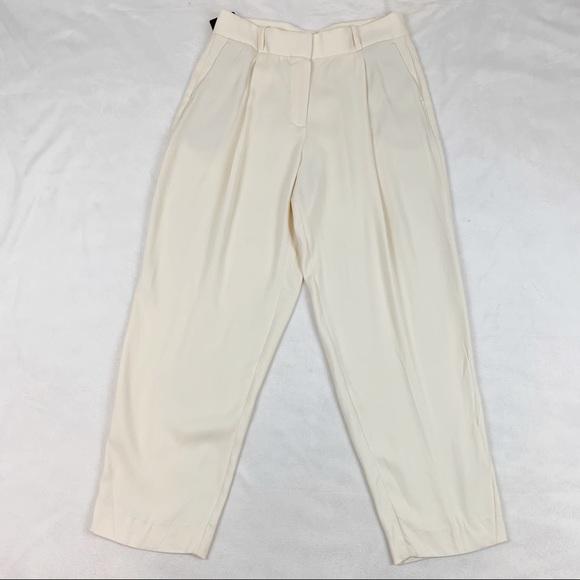 Massimo Dutti Pants - Massimo Dutti high rise pleated front pants